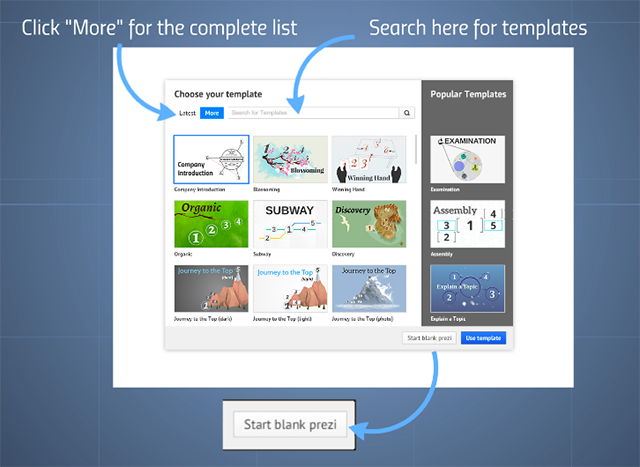 templates | prezi classic support, Powerpoint templates